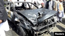 Пакистан, место взрыва, 7 марта