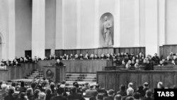 Люты 1956 году. ХХ зьезд КПСС