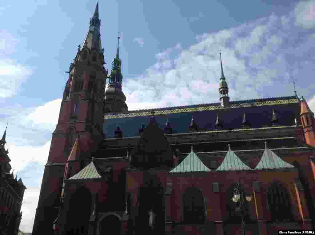 Главный собор Легницы