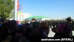 Церемония принятия присяги, Туркменистан (архивное фото)