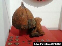 Шлем воина периода дохристианской Киевской Руси