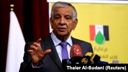 Ministri irakian i naftës, Jabar al-Luaibi.