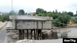 Göyçada dağılan körpü, 2018