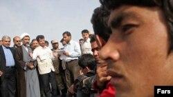 افغان هایی که به افغانستان بازگردانده شده اند