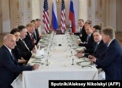 Nakon susreta dvojice predsjednika uslijedio je radni ručak