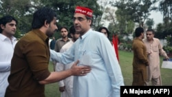 Awami National Party candidate Haroon Ahmed Bilour was killed in the attack.