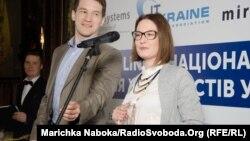Автор і ведуча програми «Молодь плюс» Марічка Набока