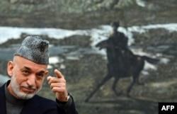 Ауғанстан президенті Хамид Карзай. Кабул, 16 қараша 2013 жыл.