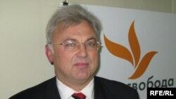 Володимир Стретович у студії Радіо Свобода