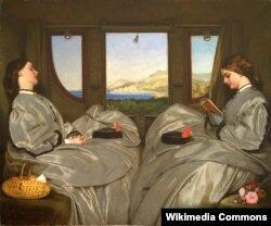 Аўгуст Эг, карціна «Спадарожніцы» (1862)