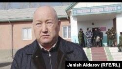 Вице-премьер-министр Кыргызстана Жениш Разаков.
