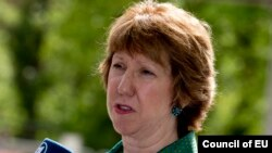 Shefja e politikës së jashtme të Bashkimit Evropian, Catherine Ashton.