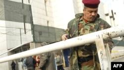 مدخل البنك المركزي العراقي ببغداد