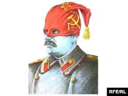 Stalinin karikaturası