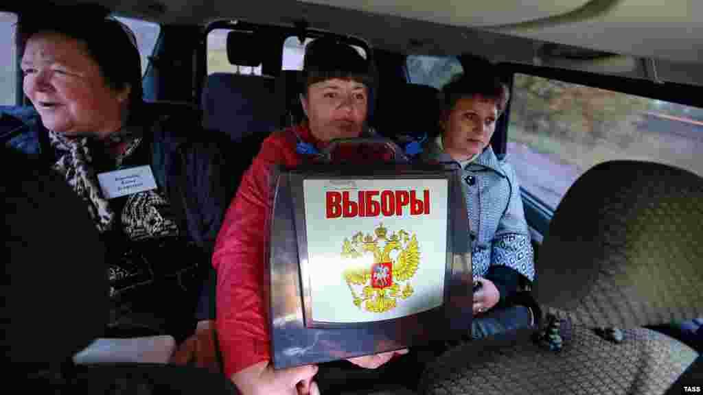 Избирательная комиссия на выезде, Ивановская область