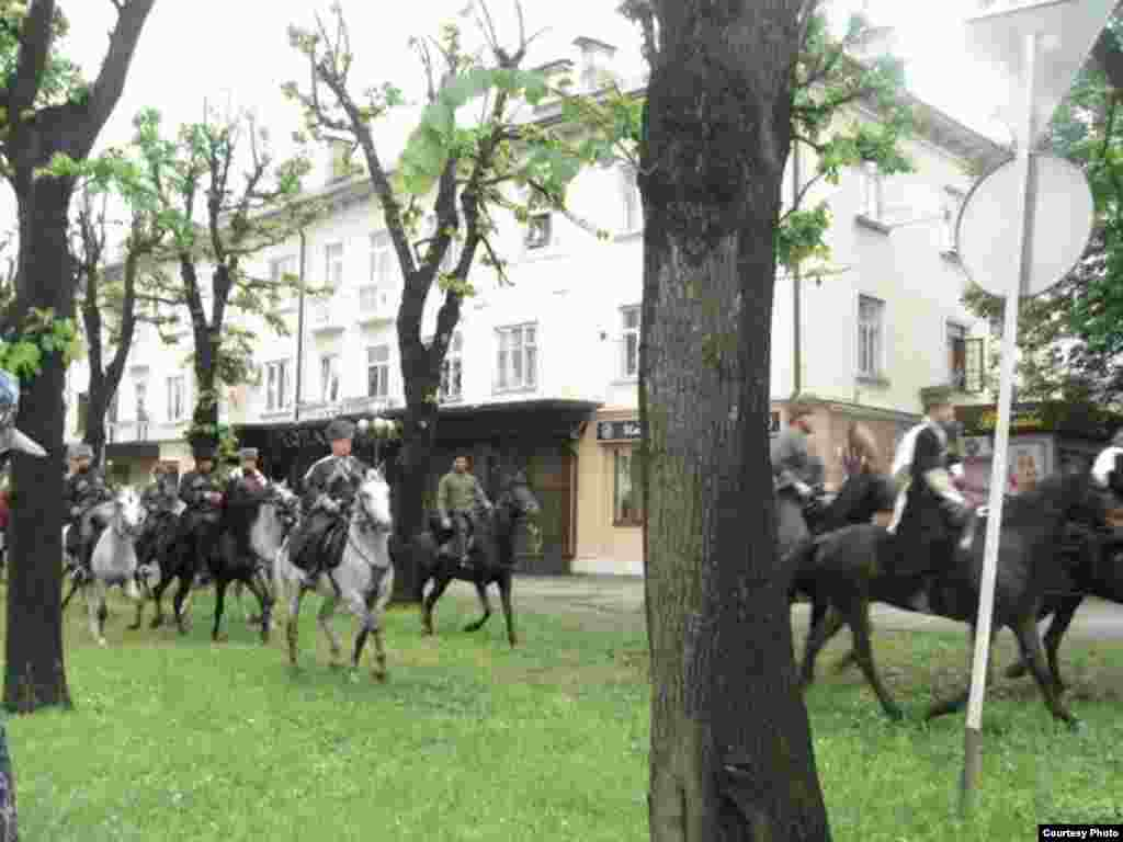 Caucasus -- 150 years of the Caucasian War, Day of Memory in Nalchik, Kabardino-Balkar Republic, 21May2014
