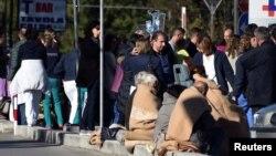 Иллюстрационное фото: Италия, комуна Риети, 30 октября: после подземных толчков эвакуированы пациенты госпиталя