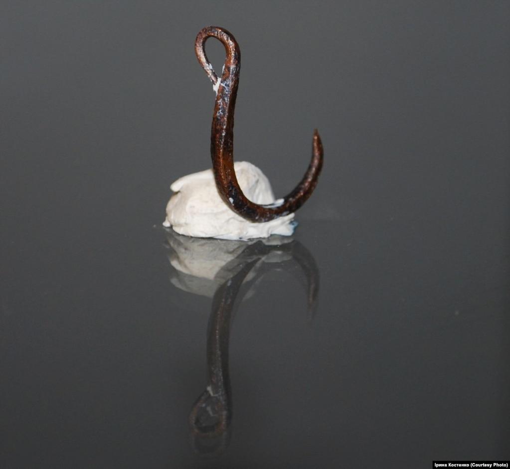Мідний рибальський гачок віком 6,5 тисяч років