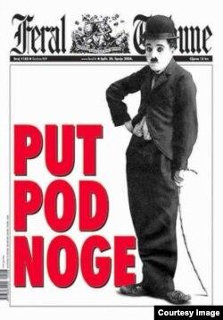 Jedna od naslovnica Feral Tribunea