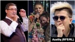 2018 елнең иң популяр җырчылары - Салават Фәтхетдинов, Гүзәл Уразова һәм Элвин Грей