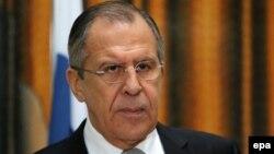 Министр иностранных дел России Сергей Лавров. Никосия, 2 декабря 2015 года.