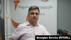 Грузинский историк, журналист и режиссер-документалист Тома Чагелишвили