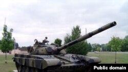 T-72 tankı, arxiv