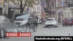 Авто, зареєстроване на Дмитра Лодочникова