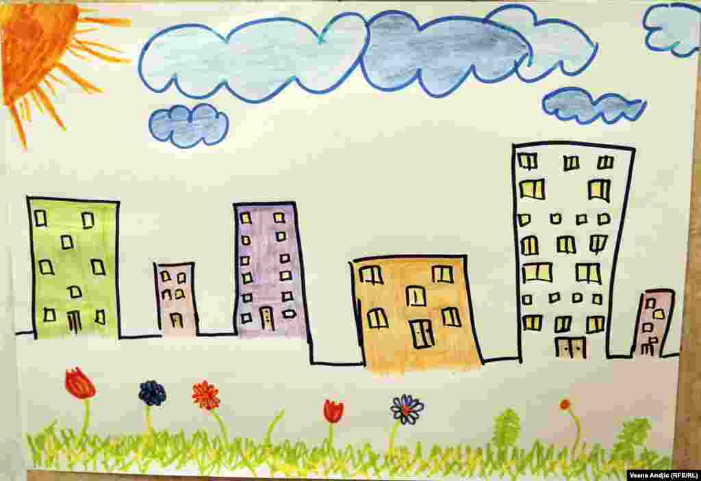 By Ahmed, 4, from Syria