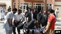 Взрыв в пакистанской больнице