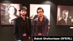 بهمن و بهرام ارک کارگردانان فیلم کوتاه «حیوان»