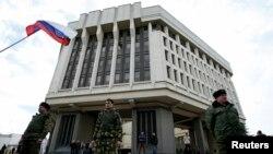 Симферопол, 06.08.2014, Парламентот на Крим