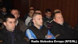 Dio Kumanovske grupe u sudnici