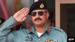Former ISI head Rizwan Akhtar (file photo)