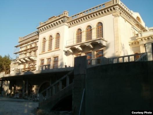 Строительство 'Дачи Патриарха', фото http://openbereg.ru/?p=19