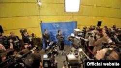 Прес-конференція Верховного представника ЄС із закордонних справ Кетрін Аштон, Брюссель, 13 січня 2009 року