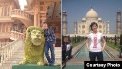 Палац Чхатарпур у Нью-Дэлі і легендарны Тадж-Махал