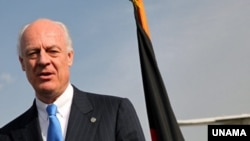 Staffan de Mistura, the new head of UNAMA