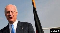 Staffan de Mistura, the new head of UNAMA