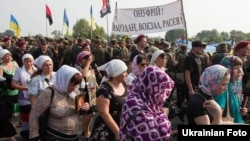 Хресна хода УПЦ (Московського патріархату). Київська область, околиця Борисполя, 25 липня 2016 року