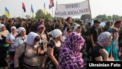 Крестный ход у Борисполя, Киевская область, 25 июля 2016