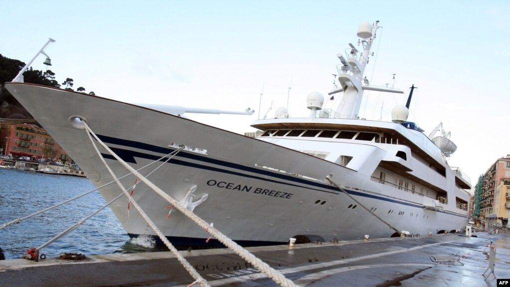 Оргии на яхтах и лодках