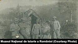 Amintiri din timpul războiului, august 1917, Sursa: Muzeul Național de Istorie a României