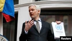 Джуліан Асанж, кіраўнік WikiLeaks