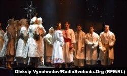 Выступление Черниговского театра на фестивале «СвітОгляд» в Северодонецке