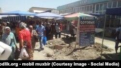 Один из ташкентских рынков. Иллюстративное фото.