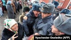 Митинг в поддержку Камчыбека Ташиева. Январь 2013 года.