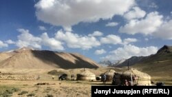 1. View of Korumdu pasture, Murghab district, Tajikistan
