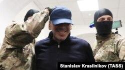 Абдусамад Гамидов в зале Басманного суда Москвы, 6 февраля 2018 г.