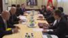 Predstavnici ekspertskih timova Srpske pravoslavne crkve (SPC) u Crnoj Gori i Vlade Crne Gore na sastanku 11. marta